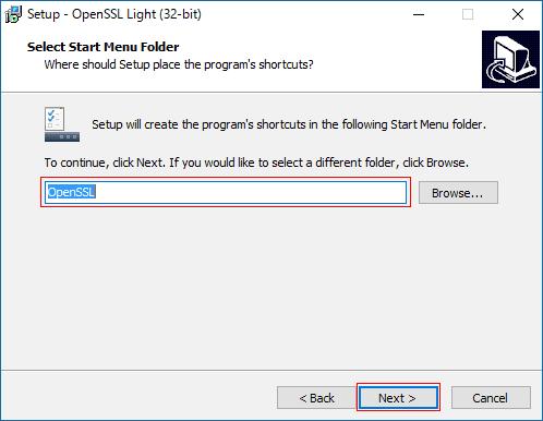 Установка и настройка openssl windows продвижение сайта на google