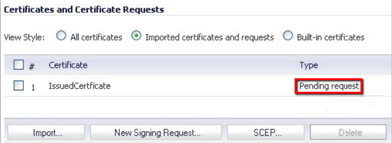 Sonicwall CSR Creation - Pending request.